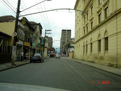 Rua Brás Cubas - Santos - Foto de Emilio Pechini em 17/01/2008