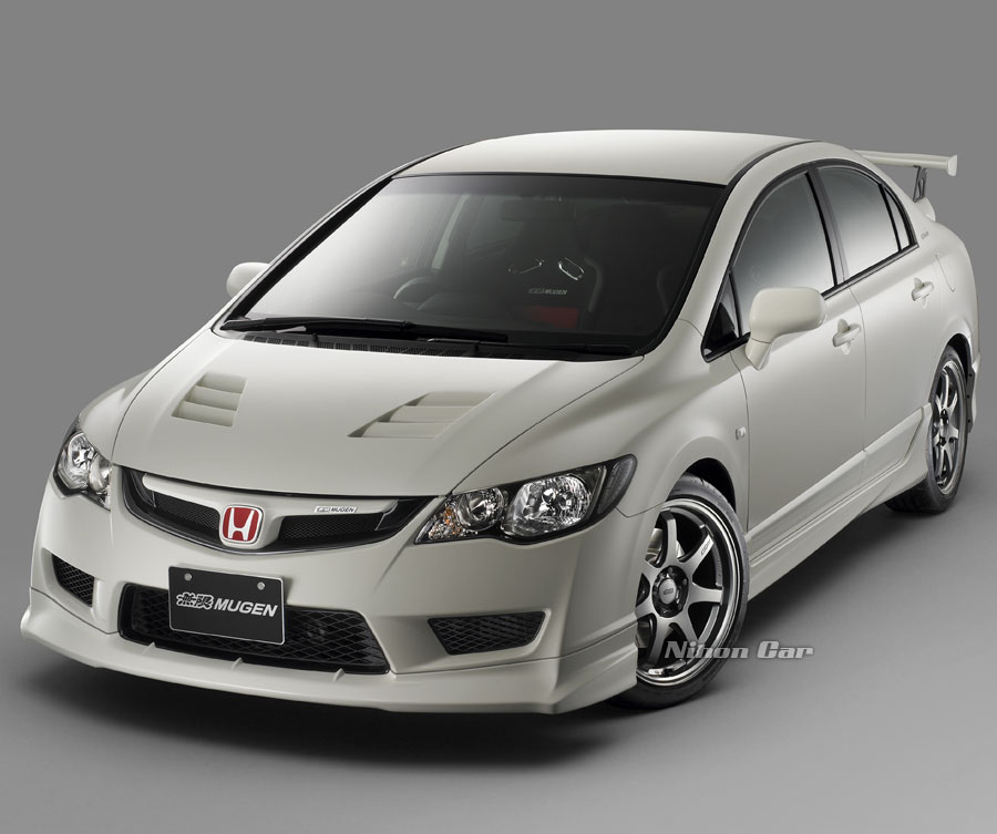 Honda Civic Type R Mugen Spoiler. MUGEN CIVIC TYPE RR