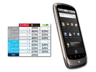Formas de conseguir un Nexus One fácilmente en España