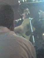 Musician at El Jarro, Bariloche