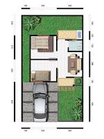 sketsa desain gambar rumah minimalis