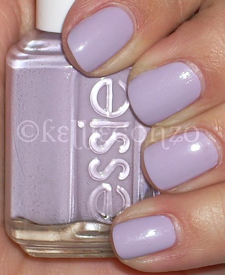 Lilac Nail Color: KellieGonzo: Essie St. Lucia Lilac