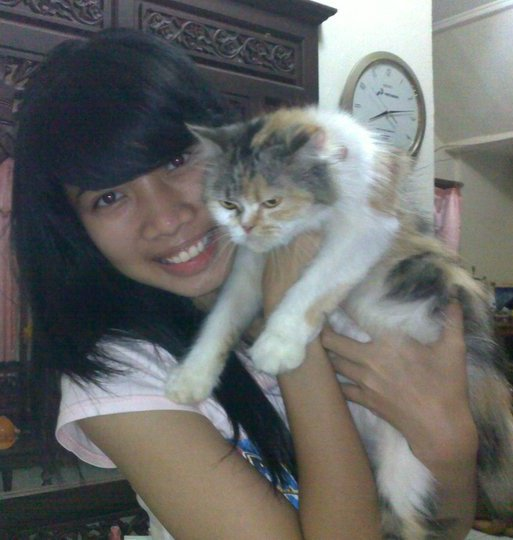 with my pet :)