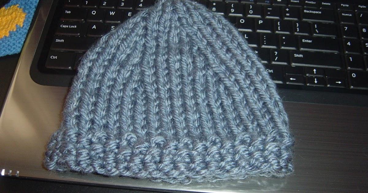 Knitting Pattern Hat 4mm Needles : Cheryls Knitting: Bulky 2 Needle Hat