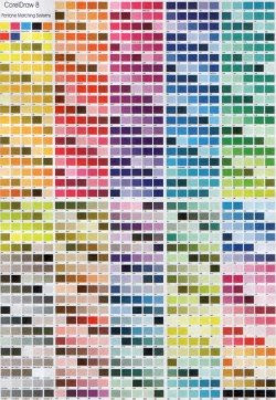 Inventing a Retail Product Step # 9a Colours_pantone