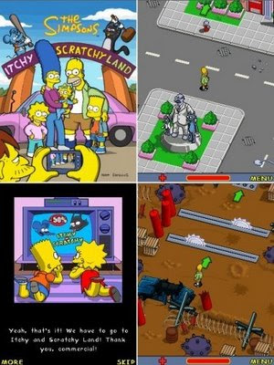 The Simpsons 2 Itchy & Scratchy Land picture
