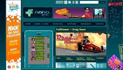 nanogames Produtora nacional oferece vários jogos grátis para download