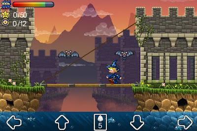 "667373_3 ""Wizzley Presto and the Vampire's Tomb"" relembra os jogos de plataforma oldschool"