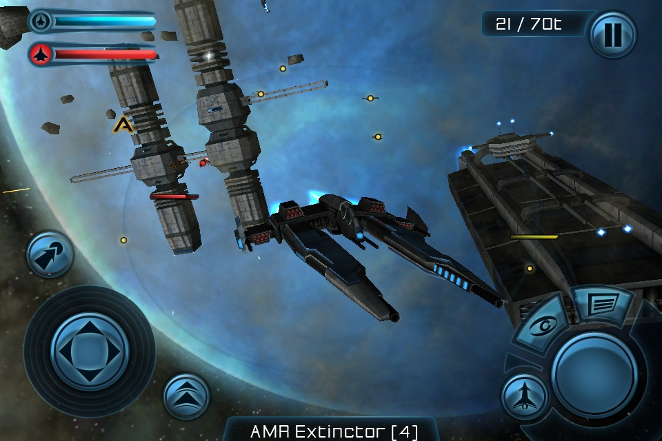 gof8 Galaxy on Fire 2 para iPhone e iPad em Outubro