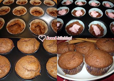 Rumpuncsos töltött muffin