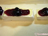 Camembert sajt leveles tésztában