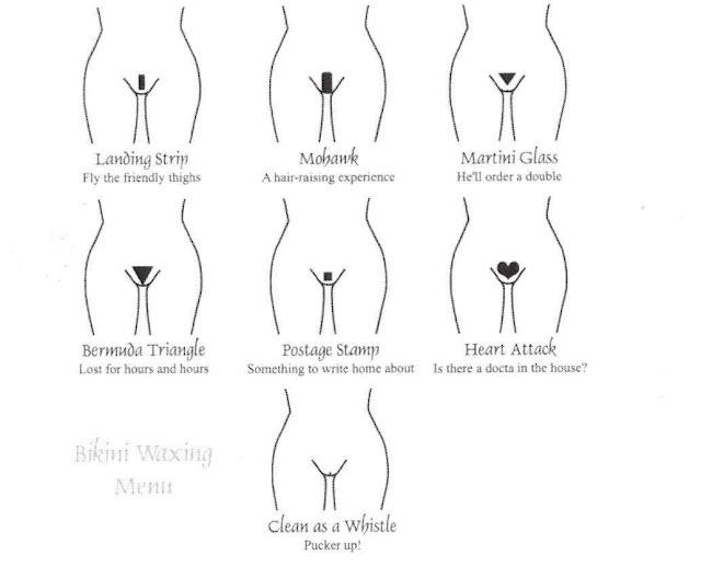 bikini wax style. ikini wax shapes pics. ikini