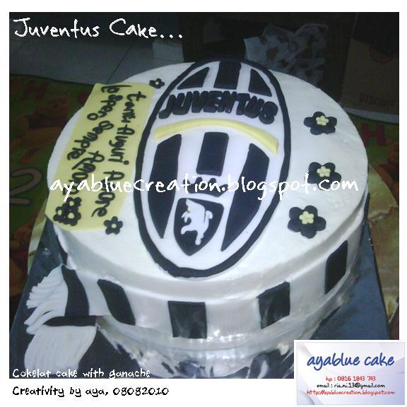 just try & do: Juventus cake...