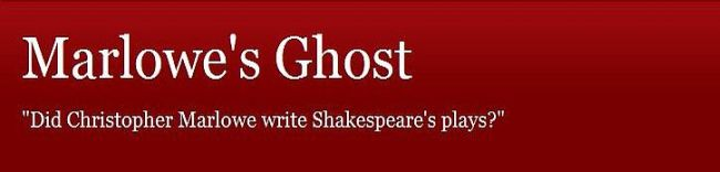 Marlowe's Ghost
