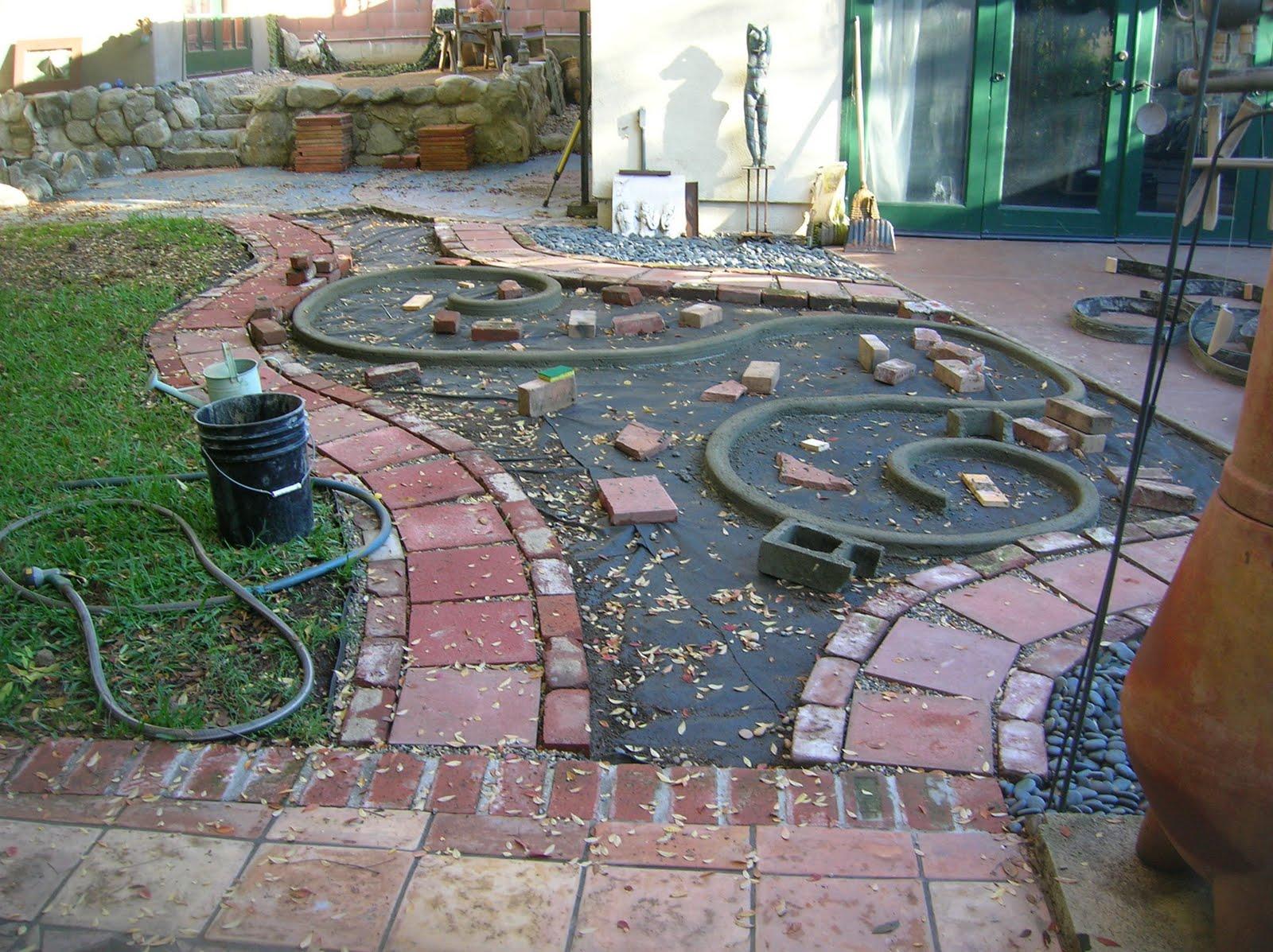 the artful eye landscape backyard rock garden