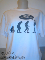 stp following me, evoluçao, camiseta geek, geek, nerd