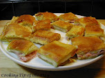 Ham &amp; Cheese Puff Pastry Squares
