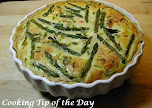 Asparagas &amp; Crab Quiche