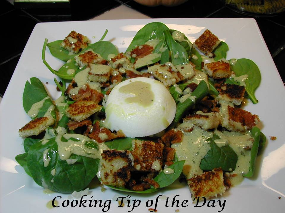 salad lyonnaise is a wonderful salad said to have originated in lyon ...
