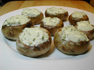 Cooking Tip of the Day: Recipe: Easy Boursin Stuffed Mushrooms