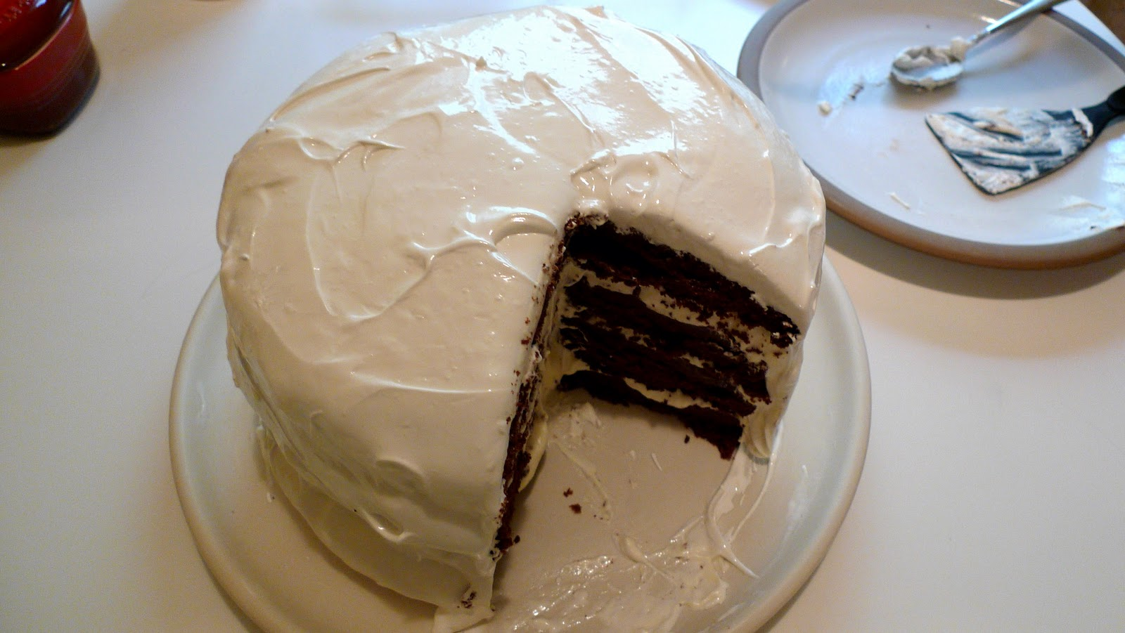 ... Appétempt: Take Two: Devil's Food Layer Cake with Peppermint Frosting