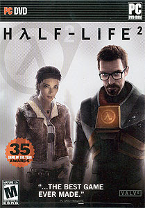 Half-Life 2 PC Game Cover.