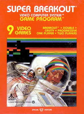 Image of Atari VCS game Super Breakout.