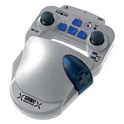 HORI Super Robot Wars Controllers. For one handed play.