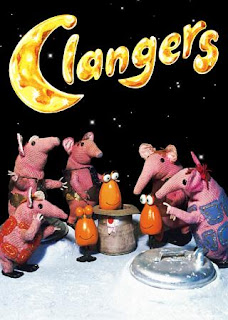 The Clangers. 1969 Children's Animation set on the moon. Lovely!
