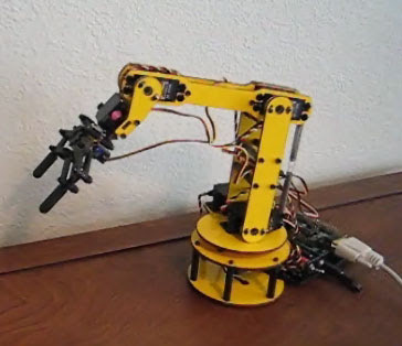Vocal Joystick - Robotic Arm