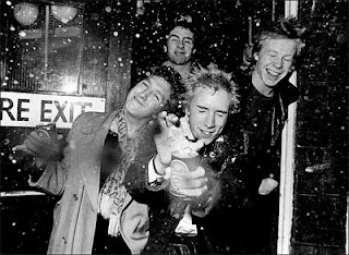 Image of the Sex Pistols - maybe not the most accessible band!