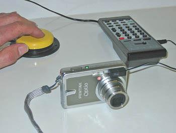 Pentax Optio Switch Adapted Camera.