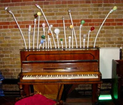 Light Bulb Piano.