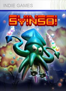 Squid Yes! Octopus Not So! Virtual Box Cover Art for Xbox 360 Indie game with One Switch mode.