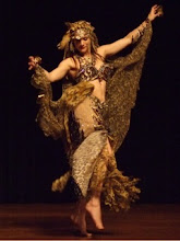 Melina the Wild Bohemian Belly Dancer