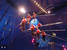Flying Wallenda's 7-Person Pyramid