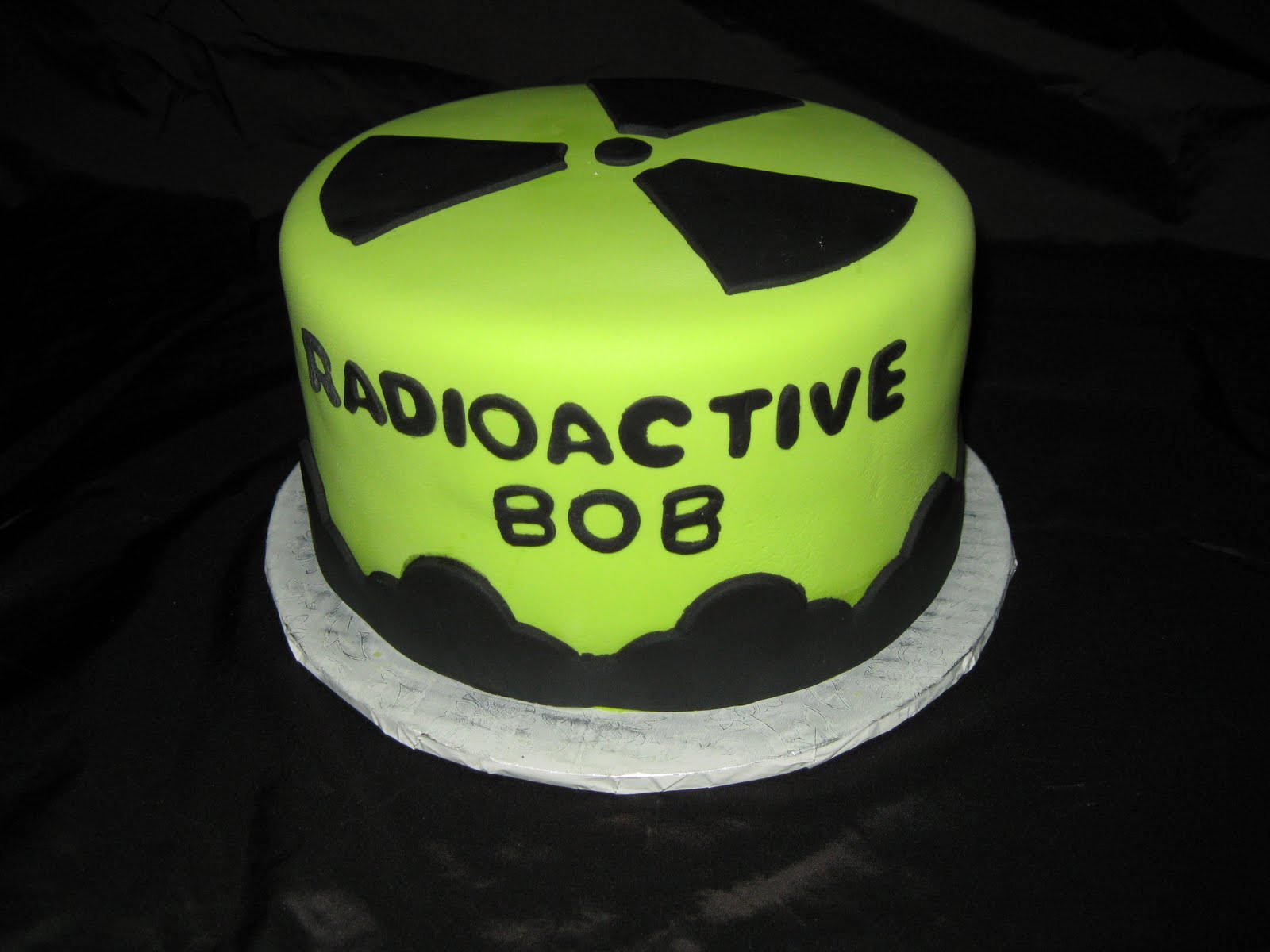 Ds Cookie Jar More Radioactive Symbol Cake
