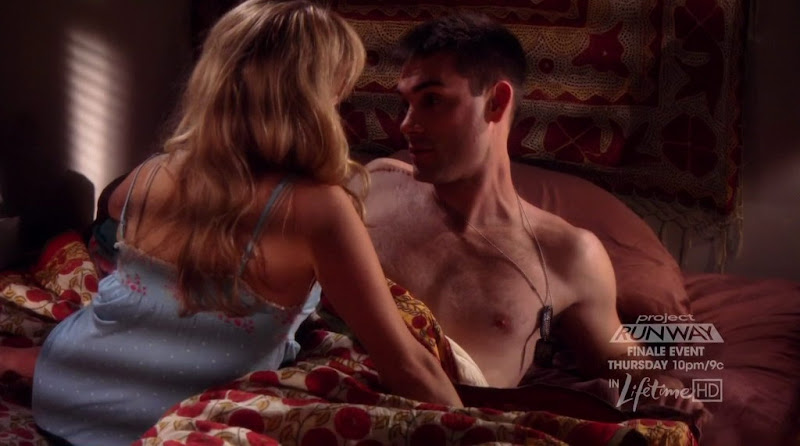 Drew Fuller Shirtless on Army Wives s4e02