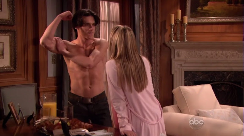 Finn Wittrock Shirtless on All My Children 20100511