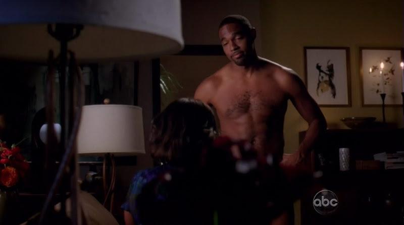 Jason Winston George Shirtless on Grey's Anatomy s6e22