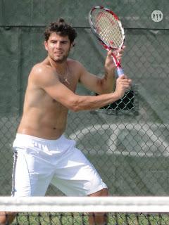 Simone Bolelli Shirtless at Cincinnati Open 2009