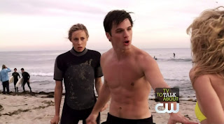 Matt Lanter Shirtless on 90210 s2e14
