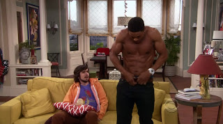 Pooch Hall and Nicolas Wright Shirtless on Accidentally on Purpose s1e16