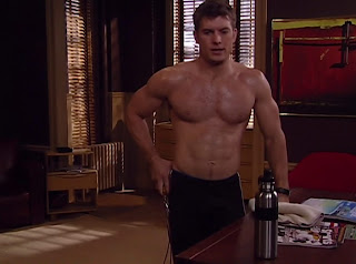 Mark Lawson Shirtless on One Life to Live 20100422