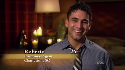 Roberto Martinez Shirtless on the Bachelorette s6e01