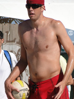 Brad Keenan Shirtless at San Francisco Open 2009