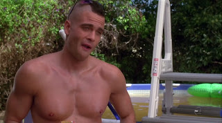 Mark Salling Shirtless on Glee