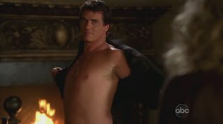 Paul Gross  Shirtless on Eastwick