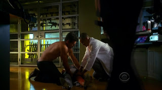 Eddie Cibrian Shirtless on CSI Miami