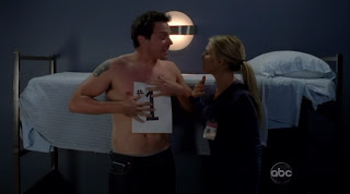 Michael Mosley Shirtless on Scrubs s9e02